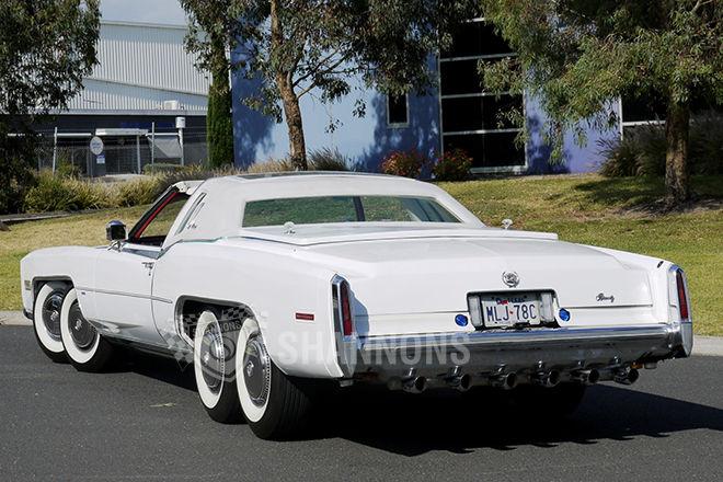 Image: Eight-wheeled 1977 Cadillac Eldorado Biarritz. Images via Shannons.au, size: 660 x 440 ...
