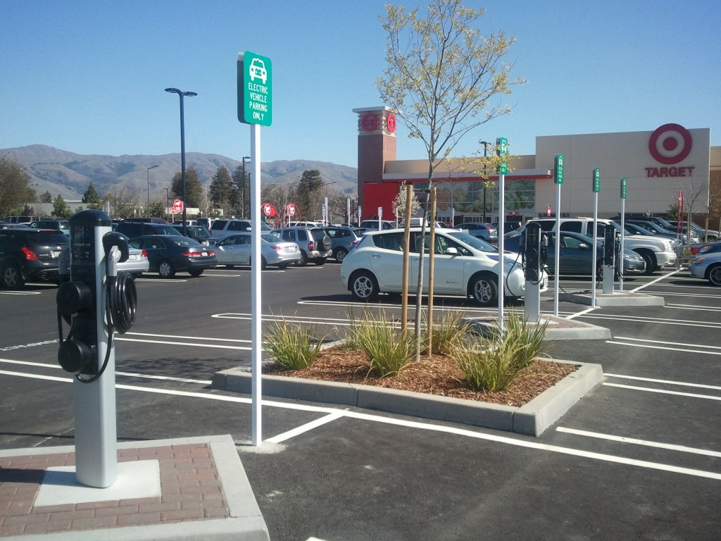 Image Electric Car Charging Stations At Target In Fremont Ca Photo By Wilson F Via