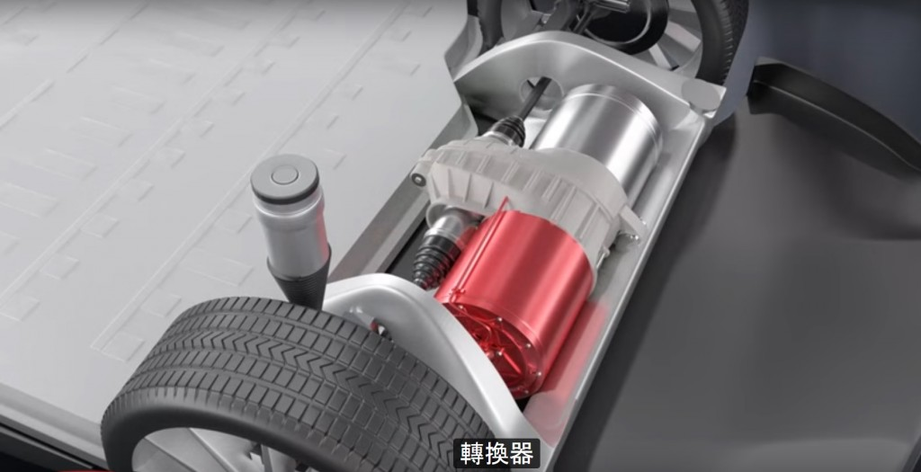 Electric motor, shown in 'How Does an Electric Car Work?' video by Learn Engineering