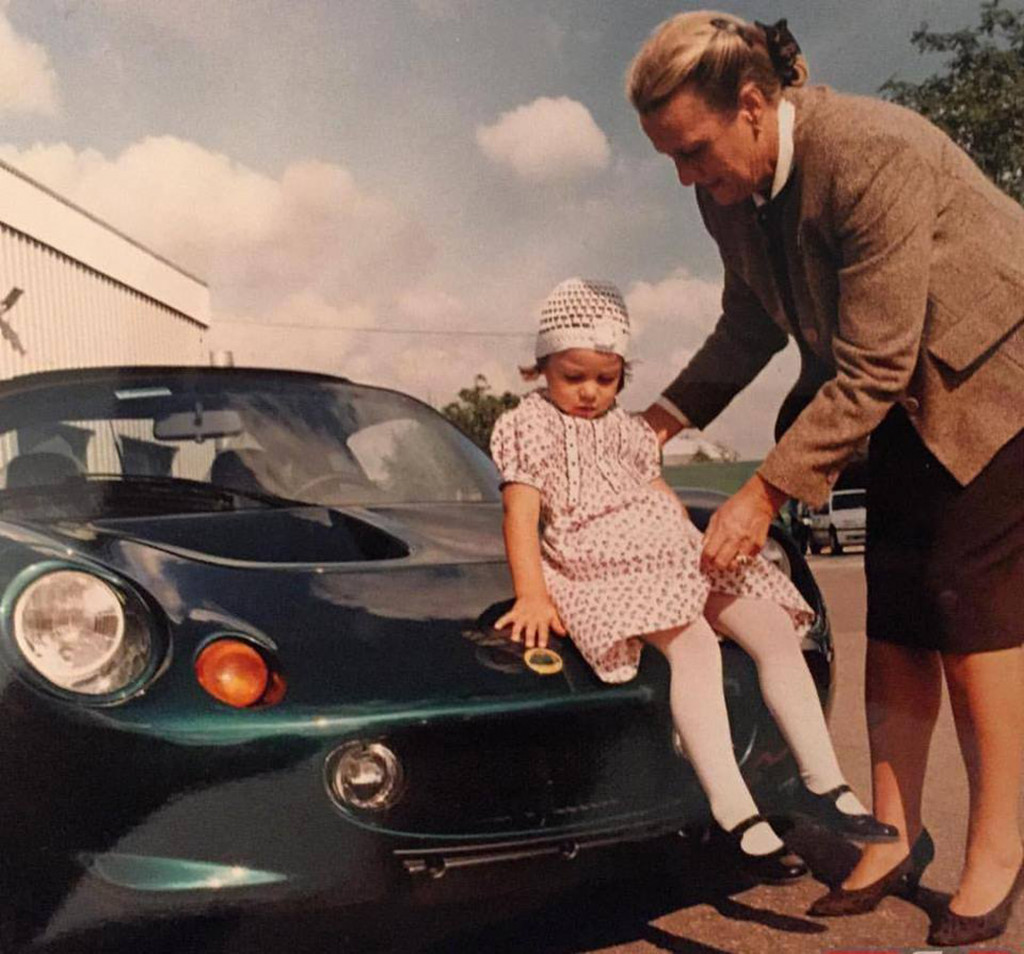 Meet the woman who the Lotus Elise is named after