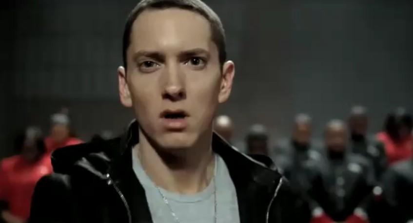 Eminem in Chrysler's Super Bowl XLV ad