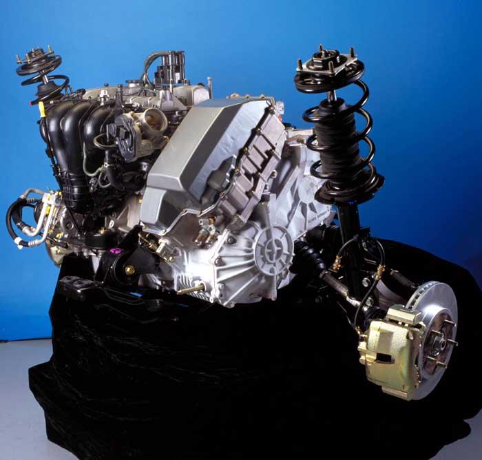 Escape HEV Engine