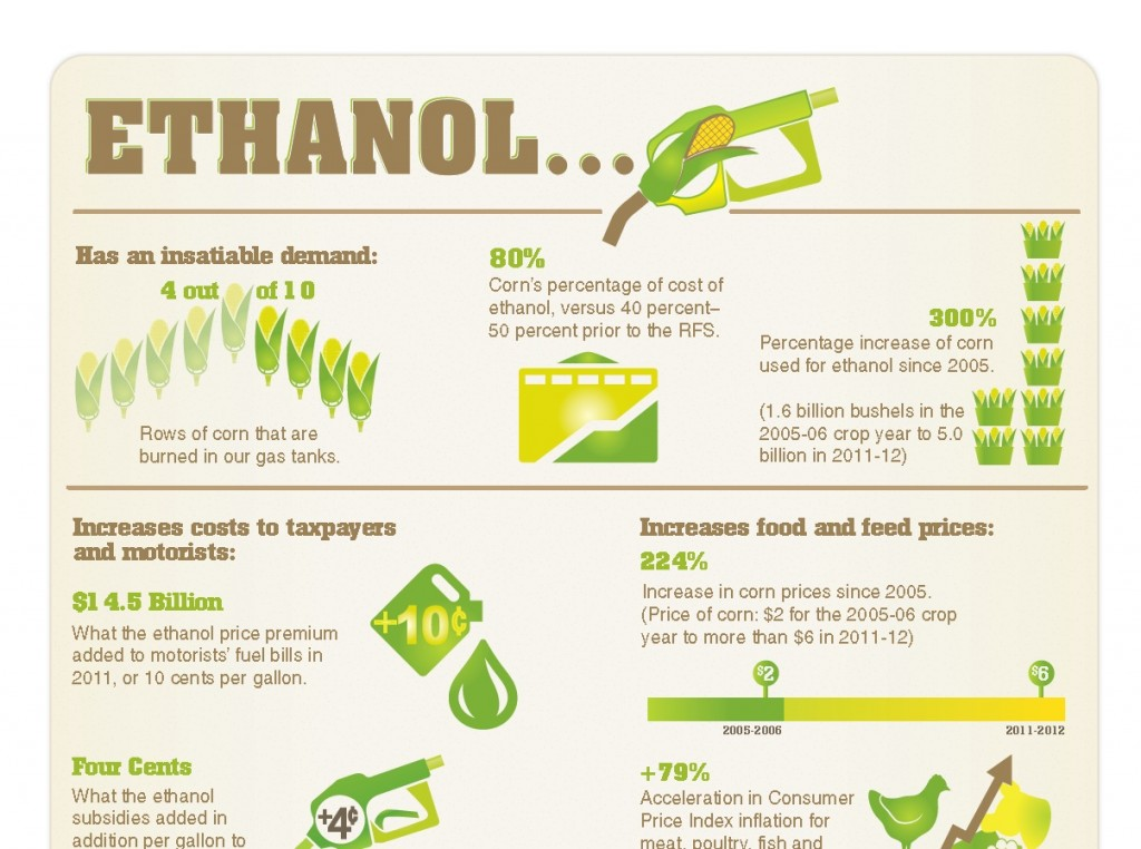 Ethanol infographic from coalition of livestock and poultry producers (crop)