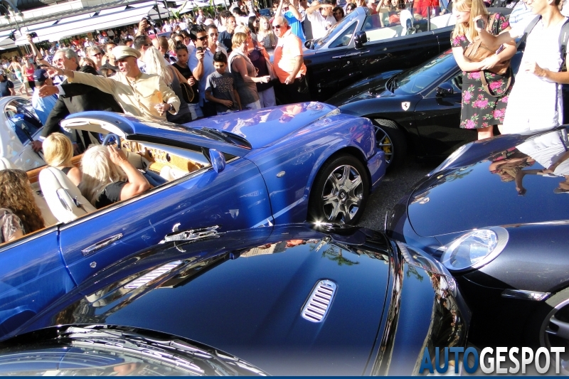 Expensive wreck in Monaco. Image via Autogespot.