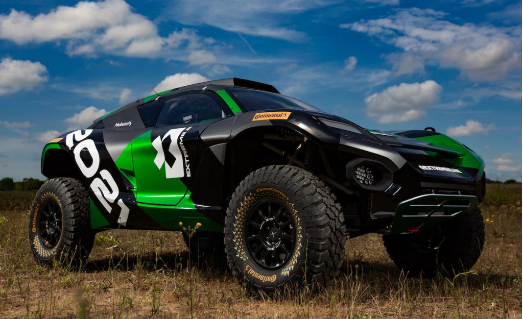 Extreme E electric racing SUV shown for first time