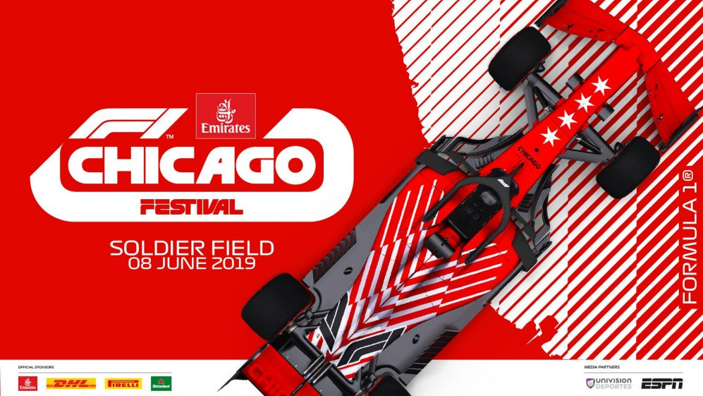 Formula One coming to the streets of Chicago on June 8