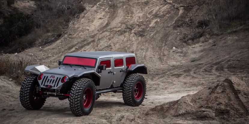 Jay Leno Takes A Look At The Fab Fours Legend Jeep Video
