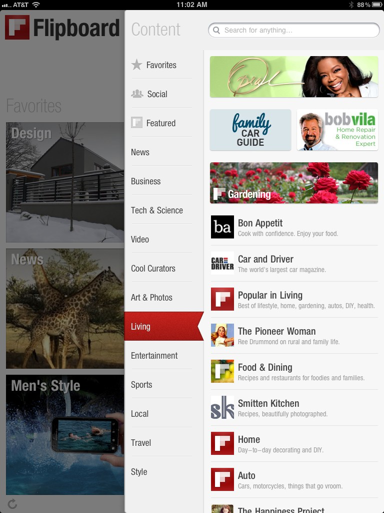 Love FamilyCarGuide? Check Us Out On Flipboard Via Your iPad
