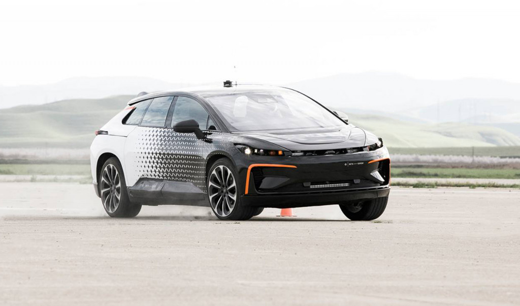 Faraday Future hits key milestone with first FF91 body-in-white