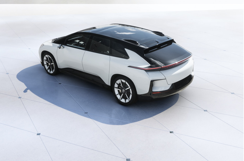 Faraday Future FF91 prototype