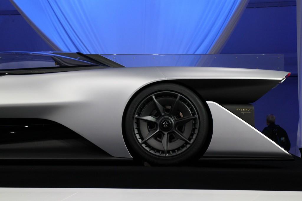 Image: Faraday Future FFZERO1 Concept, unveiled at 2016 ...
