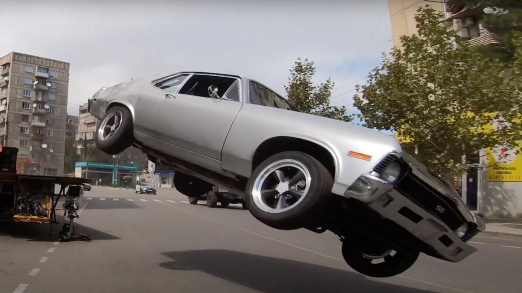 """Here's a behind the scenes look at """"Fast & Furious 9"""" vehicular carnage"""