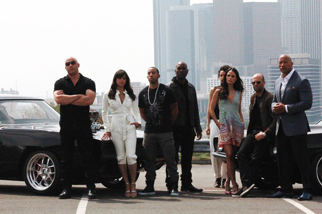 Fast and the Furious family - Image via Vin Diesel Facebook page