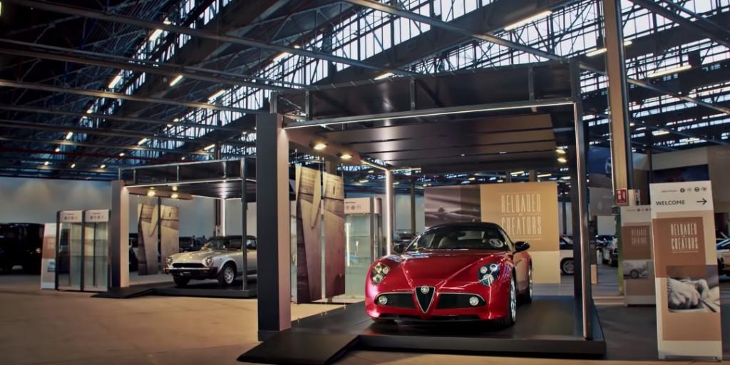 Peer inside FCA's new Alfa Romeo, Fiat and Lancia heritage museum