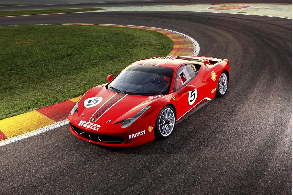 Image: Ferrari 458 Challenge race car, size: 1024 x 682, type: gif