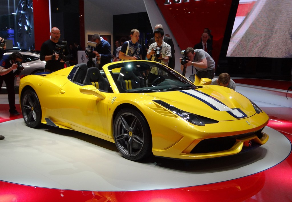 Ferrari 458 Speciale A Full Details Live Photos And Video