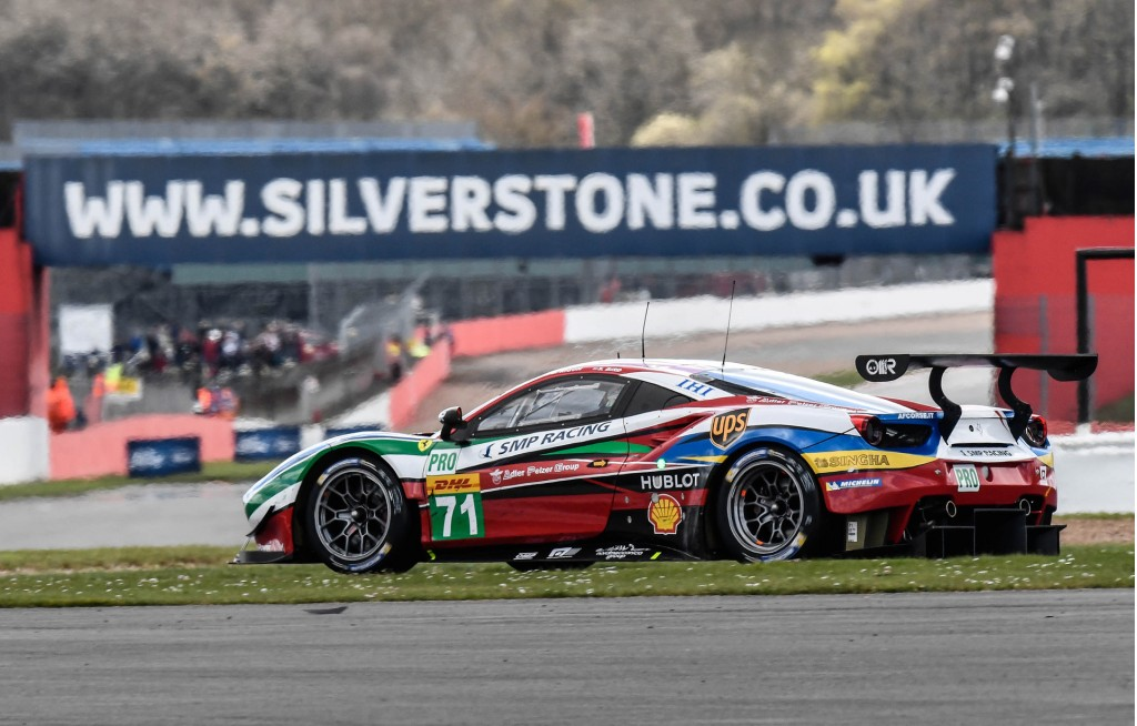 Ferrari 488 GTE at the 2016 6 Hours of Silverstone