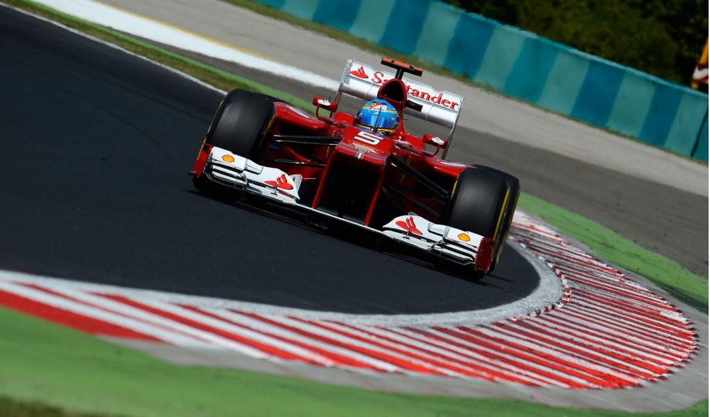 Ferrari at the 2012 Formula One Japanese Grand Prix
