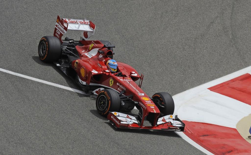 Ferrari at the 2013 Formula 1 Spanish Grand Prix