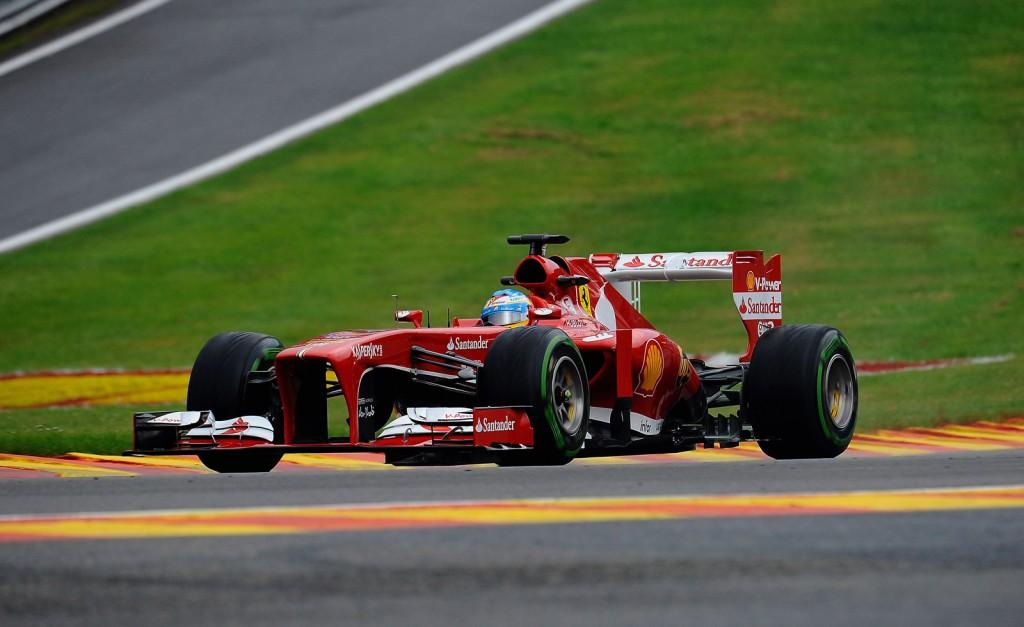 Ferrari at the 2013 Formula One Belgian Grand Prix