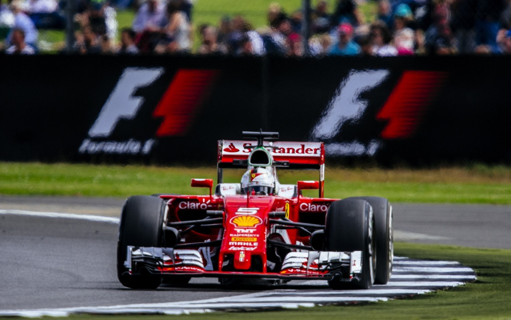 Ferrari at the 2016 Formula One British Grand Prix