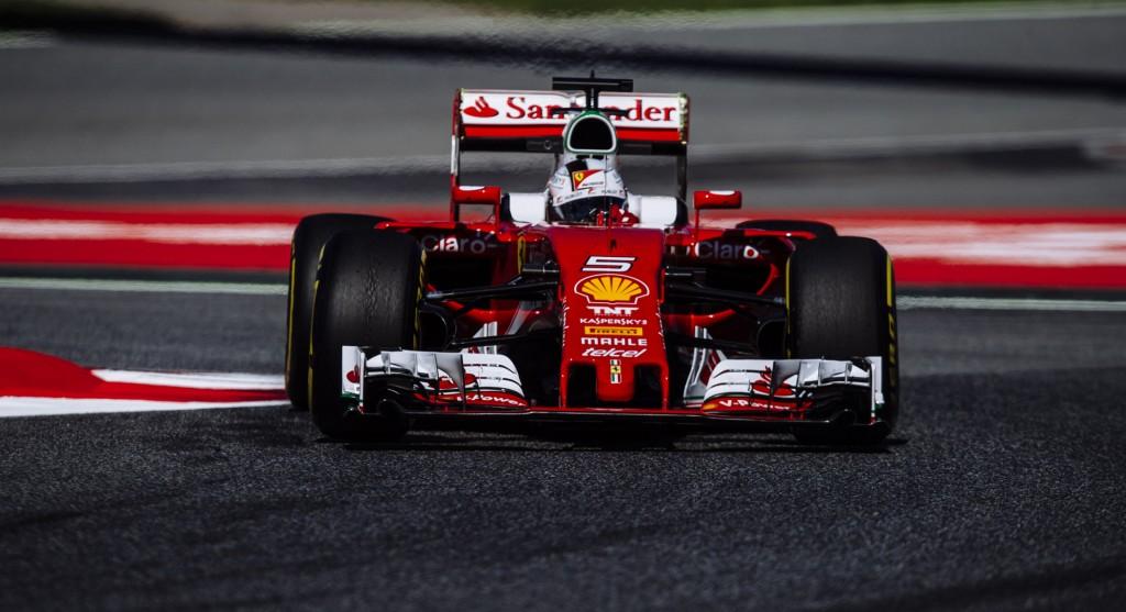 Ferrari at the 2016 Formula One Spanish Grand Prix