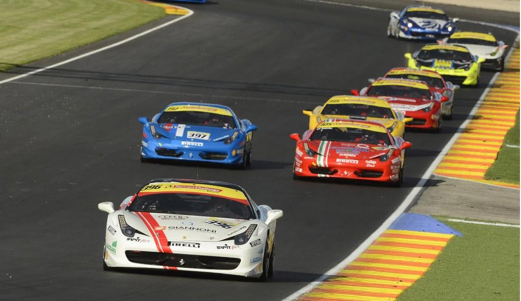 Ferrari Challenge Trofeo Pirelli race in 2012