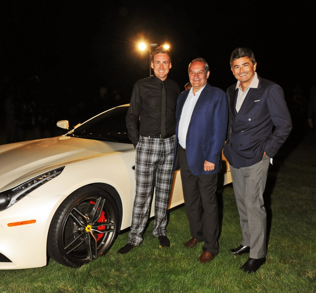 Image: Ferrari FF personalized by Ferrari Tailor Made for golfer Ian ...