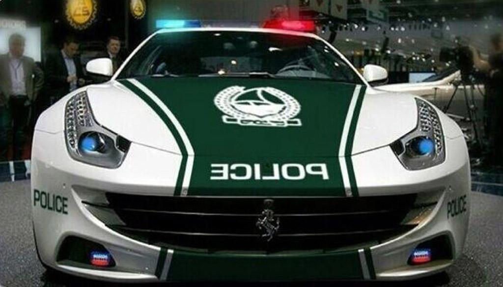 Jeep Renegade Police Car >> First An Aventador, Now Dubai Police Enlist A Ferrari FF
