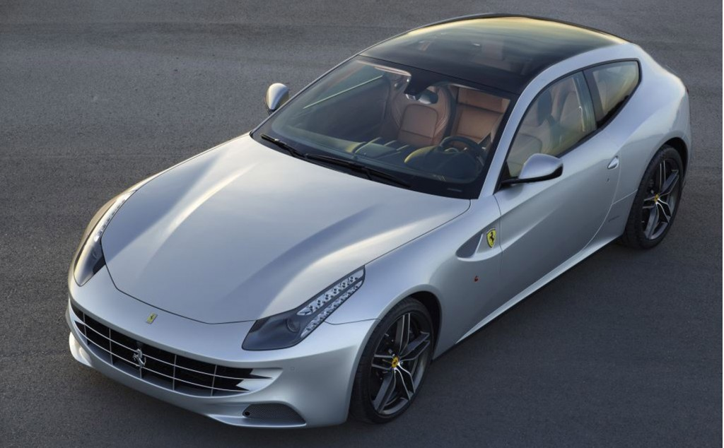 Ferrari FF with glass panoramic roof
