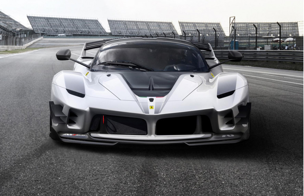 Ferrari FXX K Evo listed for sale; seller claims street-legal conversion possible