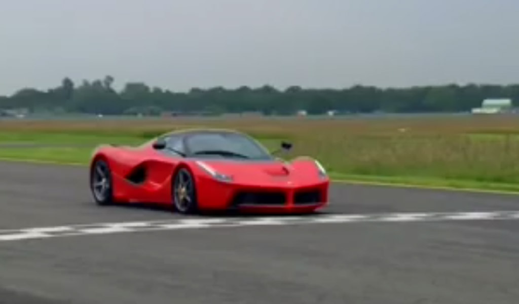 Ferrari LaFerrari Sets Unofficial 1:14.2 Lap Time For Top Gear Track