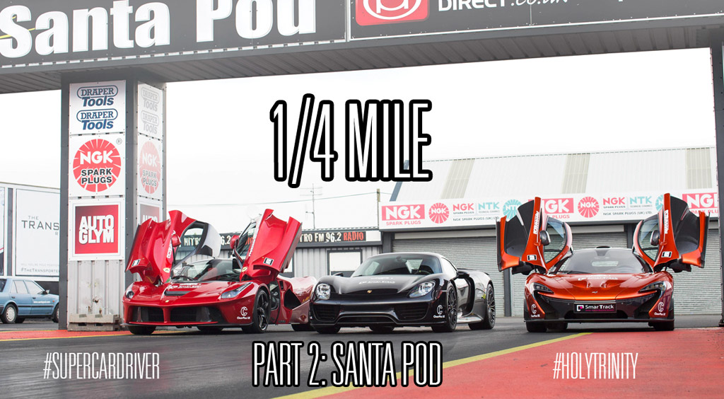 LaFerrari P And Spyder Tested Over The Quarter Mile Video - Audi r8 quarter mile