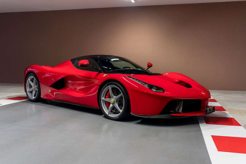 Ferrari LaFerrari once owned by Sebastian Vettel - Photo credit: Which Car/Tom Hartley Jnr