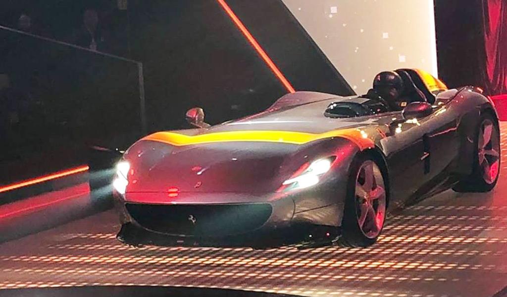 Ferrari 812 Superfast Gets Speedster Treatment With Monza