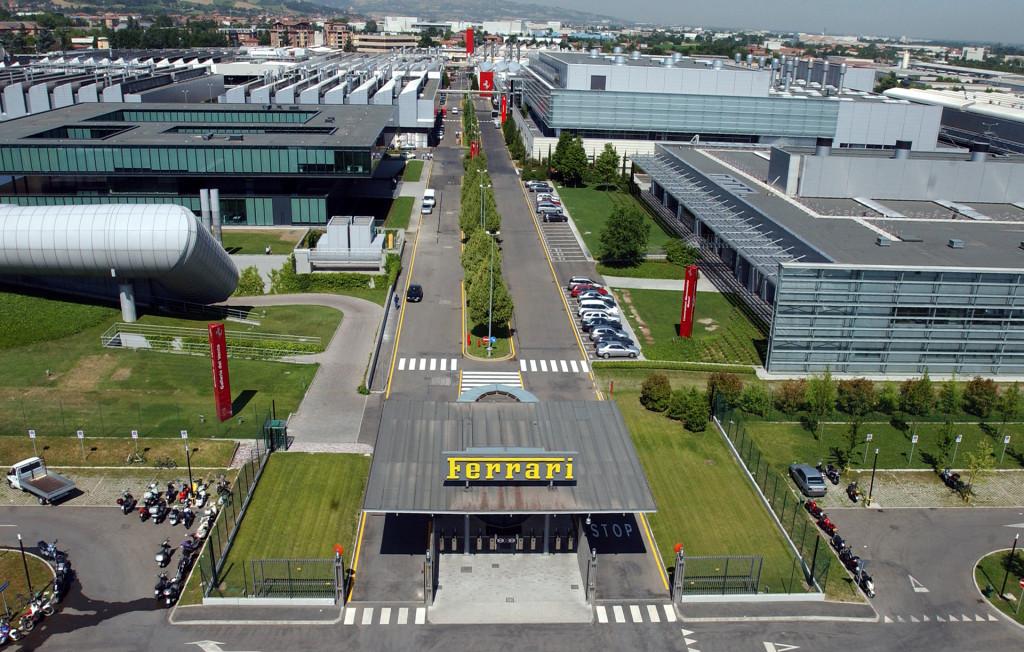 Ferrari plant in Maranello, Italy