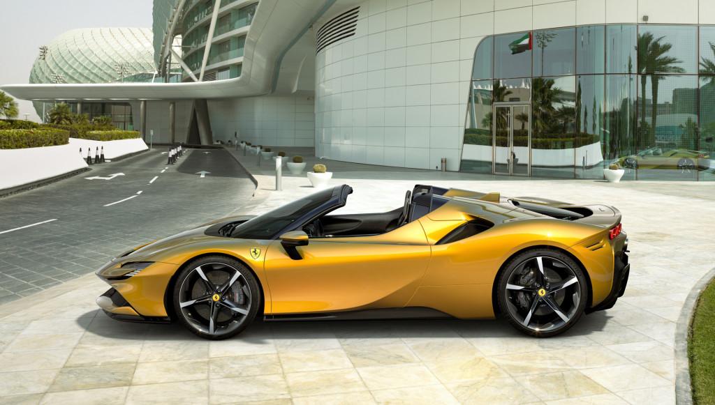 Pająk Ferrari SF90