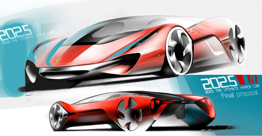 V8 Energy Review >> Ferrari World Design Contest Won By Korean University Team