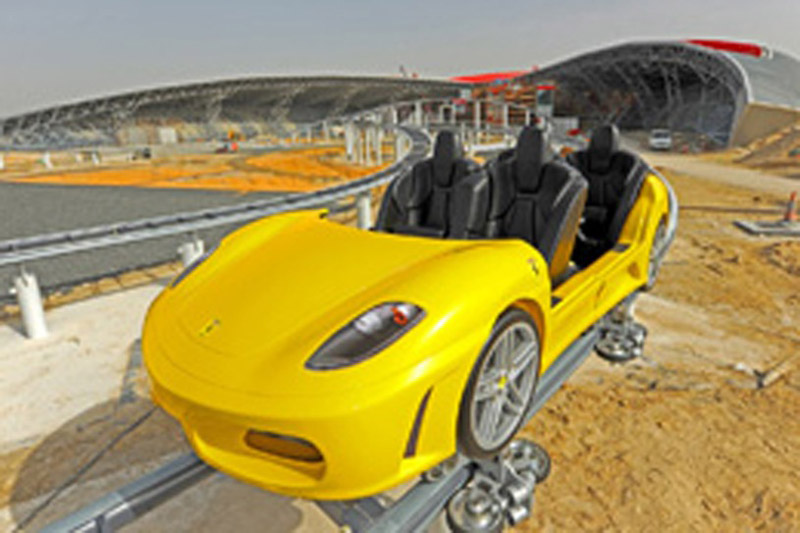 Ferrari Theme Park Will Boast World S Fastest Roller Coaster