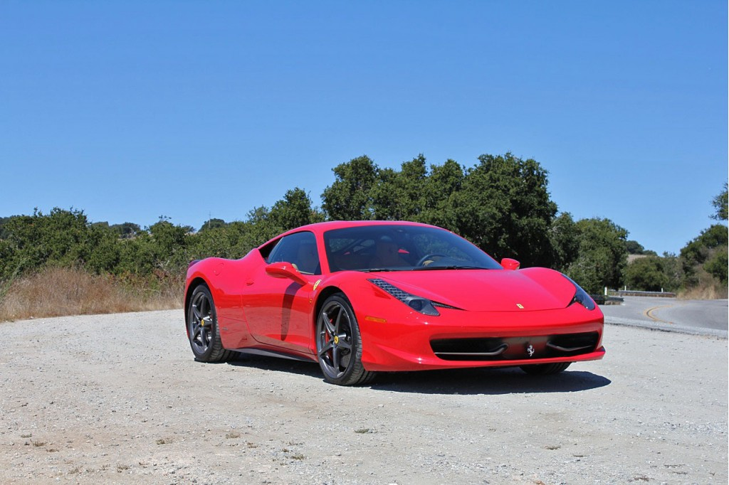You Can Do Racetrack Laps in a Ferrari in Las Vegas
