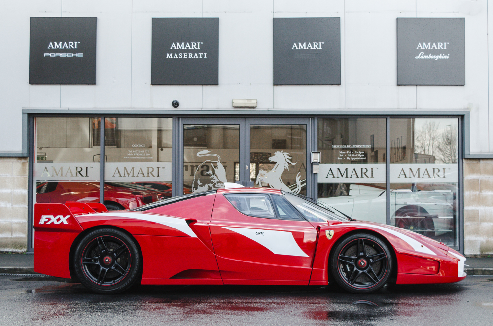 Here S Your Chance To Buy World S Only Road Legal Ferrari Fxx
