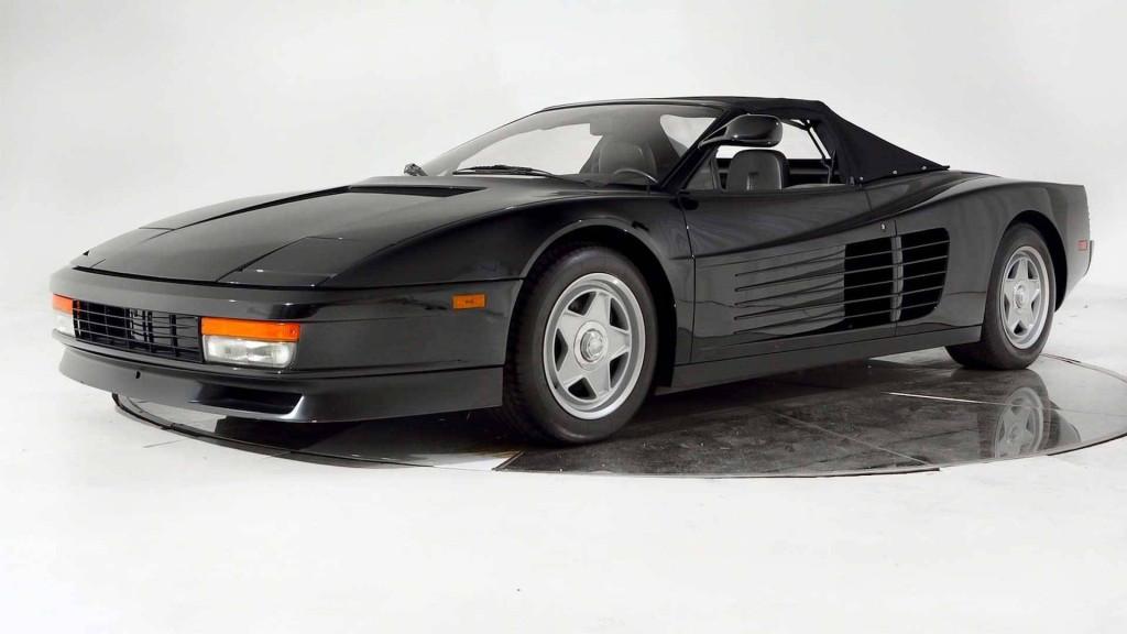 Ferrari Testarossa convertible from Michael Jackson Pepsi commercial for sale