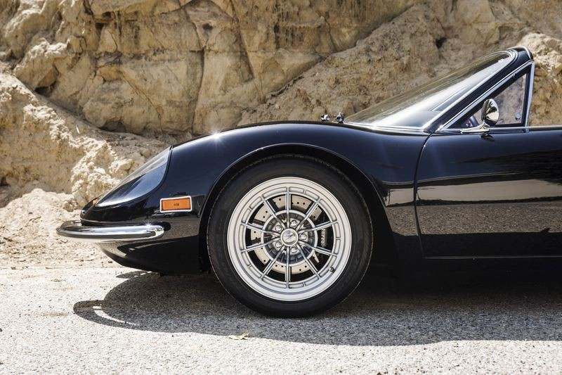 Famous Ferrari collector restomods a Dino, plans to build more for sale
