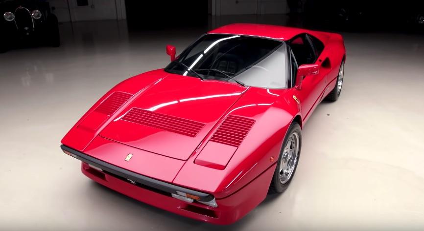David Lee brings a Ferrari 288 GTO to Jay Leno's Garage