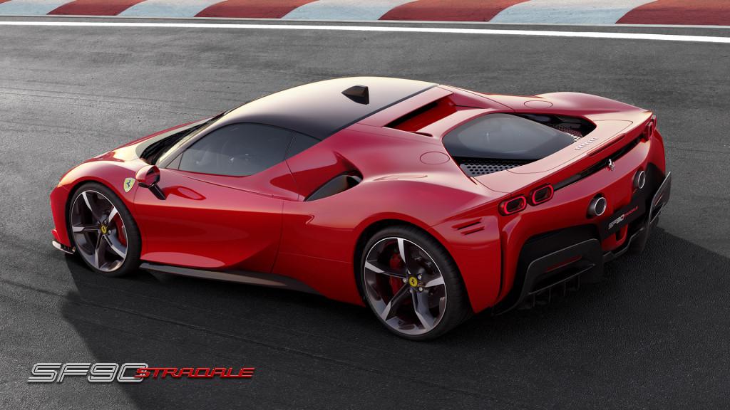 Watch Ferrari's 987-horsepower SF90 Stradale lap Fiorano