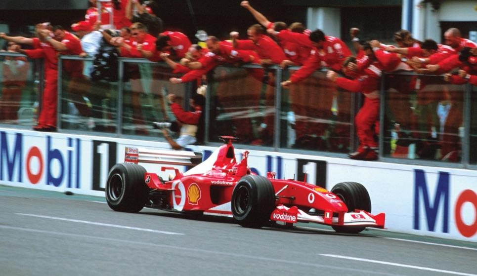 Michael Schumacher S 2002 Ferrari Formula One Car Fetches 5 9m At Auction
