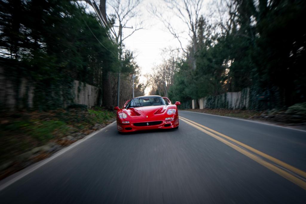 First production prototype 1995 Ferrari F50