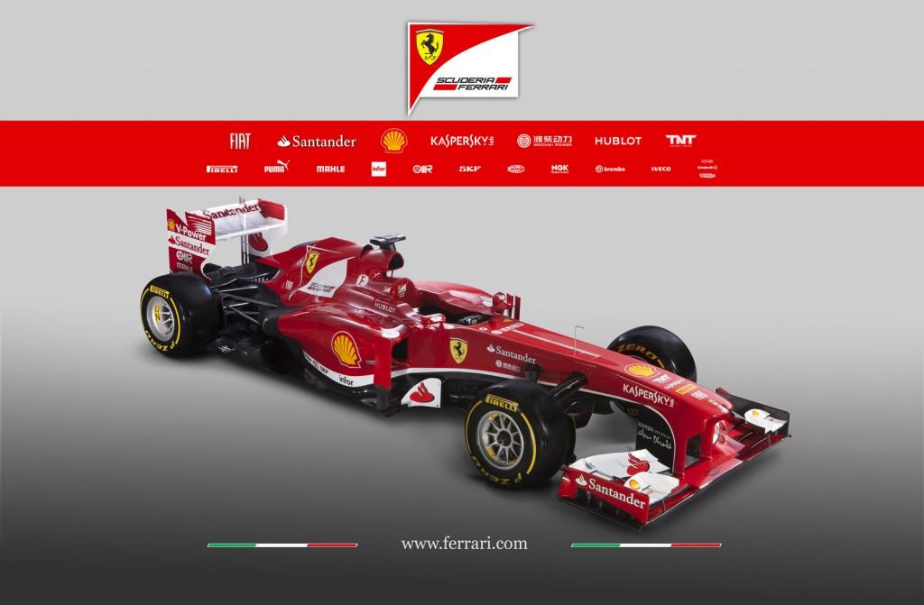 Ferrari's 2013 Formula One car, the F138