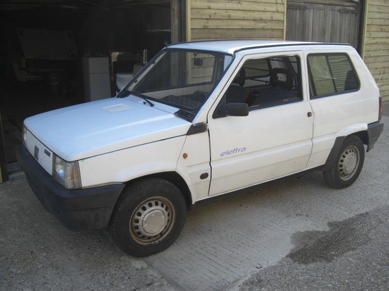 eBay Watch: Historic Fiat Panda Electric Car For Sale