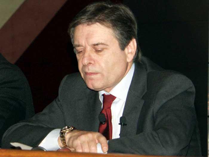 Fiat CEO Gianni Coda, 2003 Geneva Auto Show